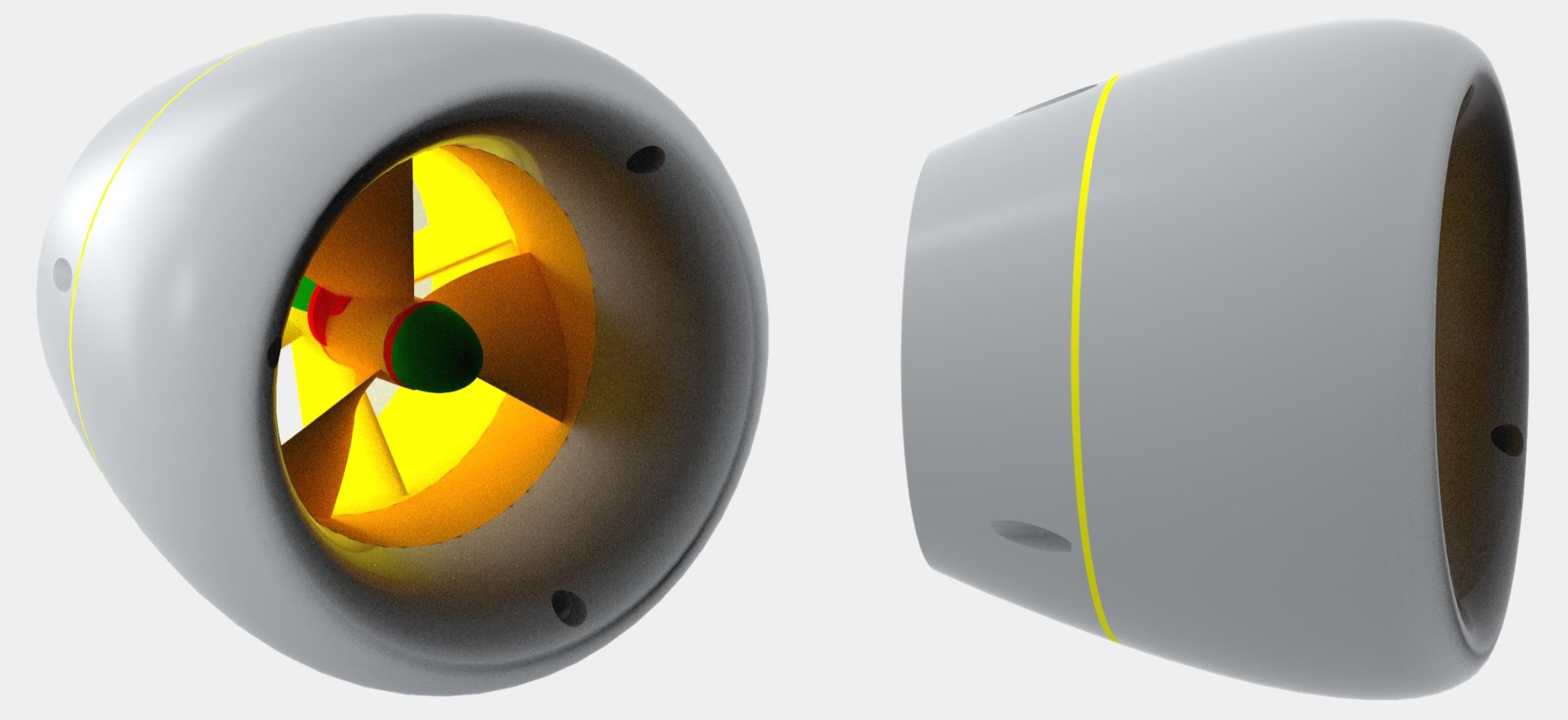 Nablawave Pompa assiale Propulsore Marino Rim-Driven turbine